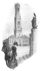 Мертвый Брюгге иллюстрация