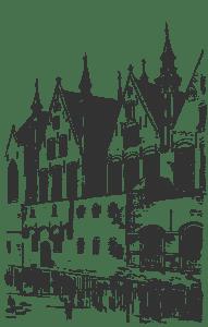 Брюгге дворец du Franc
