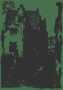 Брюгге в стихах, иллюстрация к книге epub