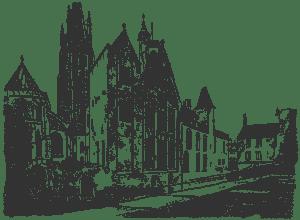 Брюгге дворец Грютхусе