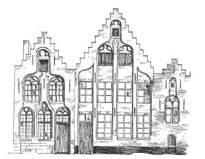 Bruges Nos. 3 - 5 Rue Marche au Fil