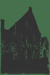 Архитектура Брюгге фасад в Бегинаж