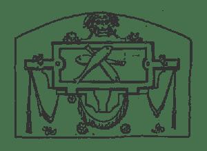 Брюгге герб над входом
