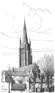 Брюгге церковь Богоматери