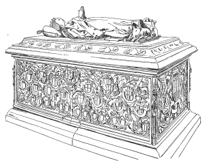 Саркофаг Марии Бургундской Брюгге